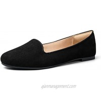 mysoft Women's Flats Slip on Loafer Ballet Flat Shoes with +Comfot Heel Protection