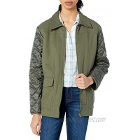 Lucky Brand Women's Quilted Sherpa Jacket