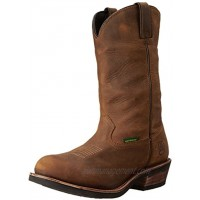 Dan Post Boots Mens Albuquerque 12 Waterproof Composite Toe Work Work Safety Shoes Casual Brown Size 11 D
