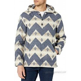 Pendleton Men's Driftwood Cotton Flannel Pullover Hoody