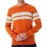 Lello Men Knitted Crew Neck Sweater 100% Organic Cotton Sustainable Essential Basic Knitwear Pullover