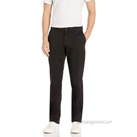 Goodthreads Men's Straight-Fit Washed Comfort Stretch Chino Pant Black 36W x 30L